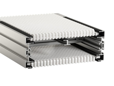 Wide Belt Modular Conveyor Belt Systems designed for long service life