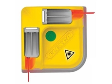 Flexco's laser belt squares are lightweight and portable, and fully sealed against dust and water