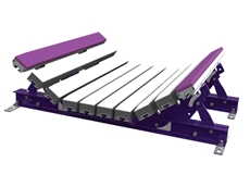 Australian-made Flexco EZ impact beds can absorb impact in load zones to protect conveyor belts of up to 1.8m in width