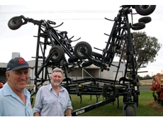 Brothers Ashley and Lex Webster run Geronimo Farm Equipment, the new Flexi-Coil dealership in Dubbo. Both are hands-on farmers who say they understand both the Flexi-Coil product and the broadacre sector better than most.