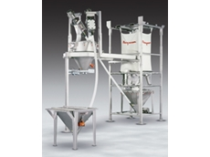 Hygienic weigh batching systems source ingredients from bulk bags and manually dumped containers