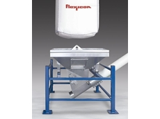 Low- profile single-trip bulk bag unloader