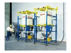 Bulk bag and bag dump pneumatic batching/blending system.