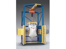Block-Buster bulk bag conditioners feature a motorised hoist that allows for conditioning at all heights on all sides