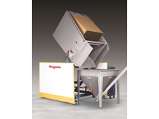 Open chute box tippers