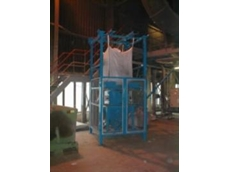 Flexicon bulk bag unloader