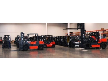 Fully accredited forklift trainers and assessors