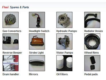 Forklift Spare Parts, Accessories and Attachments