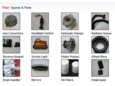 Forklift Parts and Accessories for Recent and Older Model Forklifts from Flexilift Australia