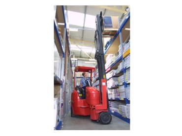 Narrow Aisle and High Reach Forklifts