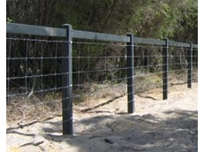 New, user-friendly post and rail fencing manufactured by Flexipole Industries