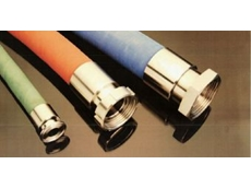 Flexquip's hose fittings for the food and beverage industries.
