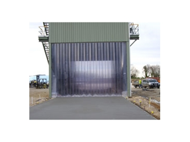 High performance weather control Strip Curtains for outdoor applications