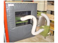 Flexible acoustic enclosure