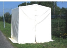 Flexshield welding tents available from Flexshield