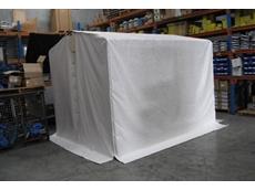 Flexshield welding tent