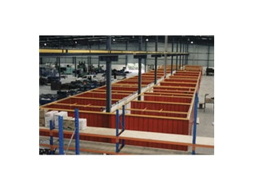 Durable welding bays for increased protection