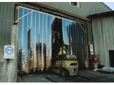 PVC strip doors and PVC strip curtains