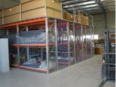 Pallet Racking Dust Control Enclosures