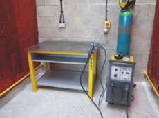 Welding benches available from Flexshield
