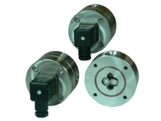 Small capacity oval gear positive displacement flowmeters