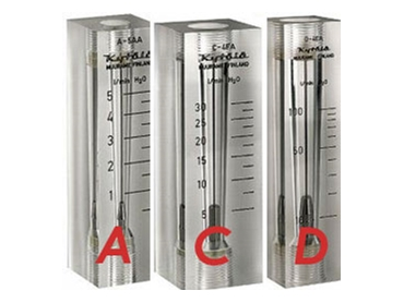 Gas and Liquid Flowmeters for low, medium and industrial flow measurements