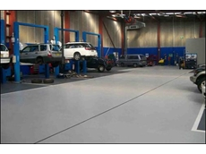 Flowcrete's flooring solution - NRMA Motorserve