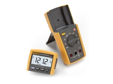 Fluke 233 remote display multimeters enable the user to be in two places at once