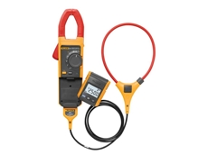 Using the detachable digital display on Fluke 381 clamp meters, readings can be taken up to 30 feet away