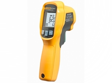 Fluke 62 Max and 62 Max+ infrared thermometers are small and easy to use