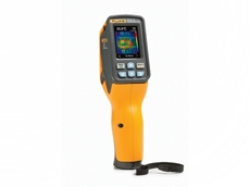 New-format Fluke VT02 visual infrared thermometer fills the gap between thermometers and thermal imagers