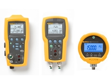 Fluke 719Pro and 721 pressure calibrators and Fluke 700G pressure gauge
