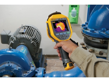 Fluke Infrared Camera Motor Pump Application
