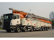 Truck mounted boom pumps from Forcetech