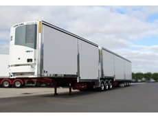 One of the highlights of Maxi-CUBE's display at Brisbane Truck Show 2013 will be its all new drop deck lead Slide-A-Side van