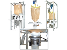 Bulk Bag Unloaders with Full Dust Containment from Fresco Systems Australasia