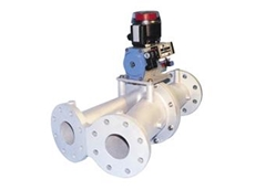 Diverter valves from Fresco Systems require minimal maintenance, and are available in cast iron or stainless steel