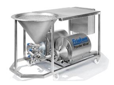 Fristam's powder mixers are designed for dissolving, emulsifying and homogenising wet and dry ingredients into fluids