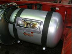 Diesel-LPG system