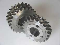 Taper fit sprockets