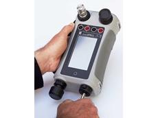 DPI 611 handheld pressure calibrator