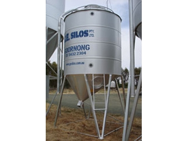 Australian Manufactured Silos from G.E. Silos