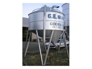 Custom Built Feed and Seed Silos from G.E. Silos