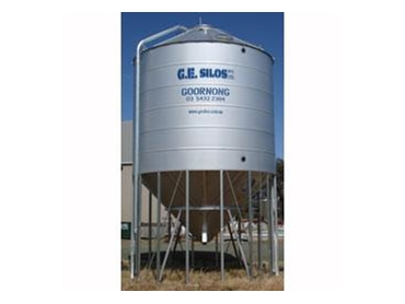 Elevated Silos manufactured by G.E. Silos