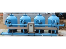 GEBEL Aquasafe's tertiary effluent sewerage filtration systems