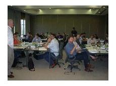 Participants at the 2006 Supply Chain & Logistics Management program.