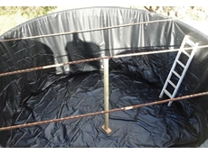 Synthesis Aquamark liner is suitable for dam, pond and tank lining applications