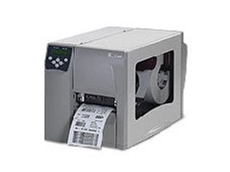 Zebra S4M industrial thermal barcode printers