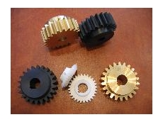 Nylon plastic gears and cogs