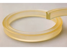 Urethane seals (U-Seals) have a high tensile strength and tear resistance